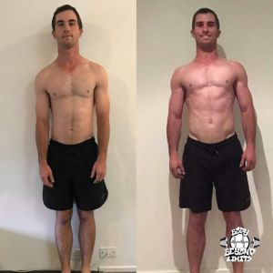Kerrin - Muscle gains challenger